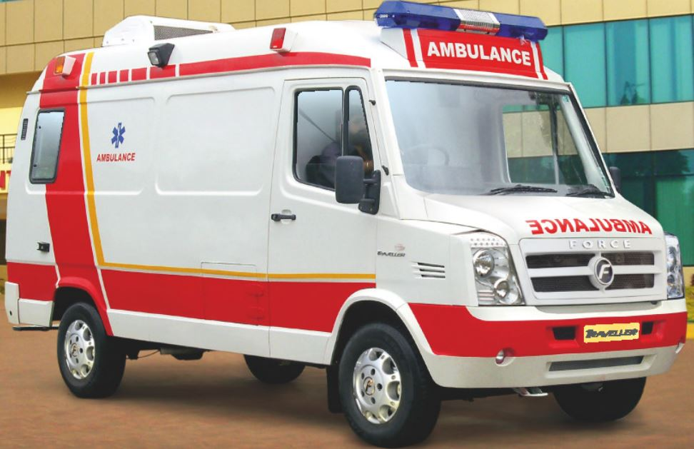 Ground Ambulance Road Ambulance Service with Angel Air and Train Ambulance